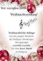 Plakat-Jungblser-vor-dem-Rewe